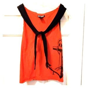 Red Sailor Top